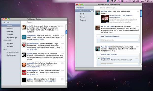 Trillian for Mac updated with improved support for Twitter and much more