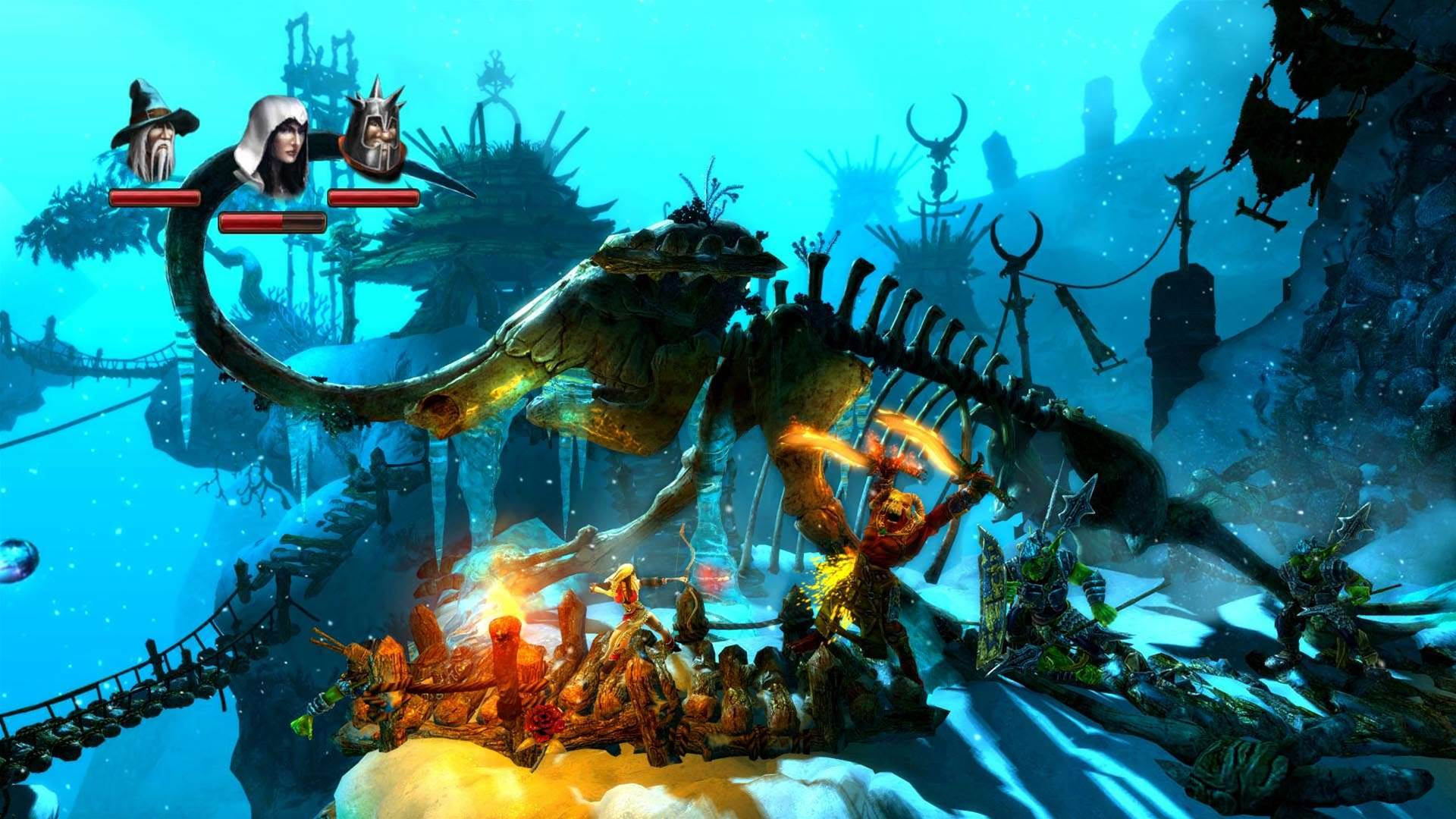 Trine 2 - hyper-colourful fun!