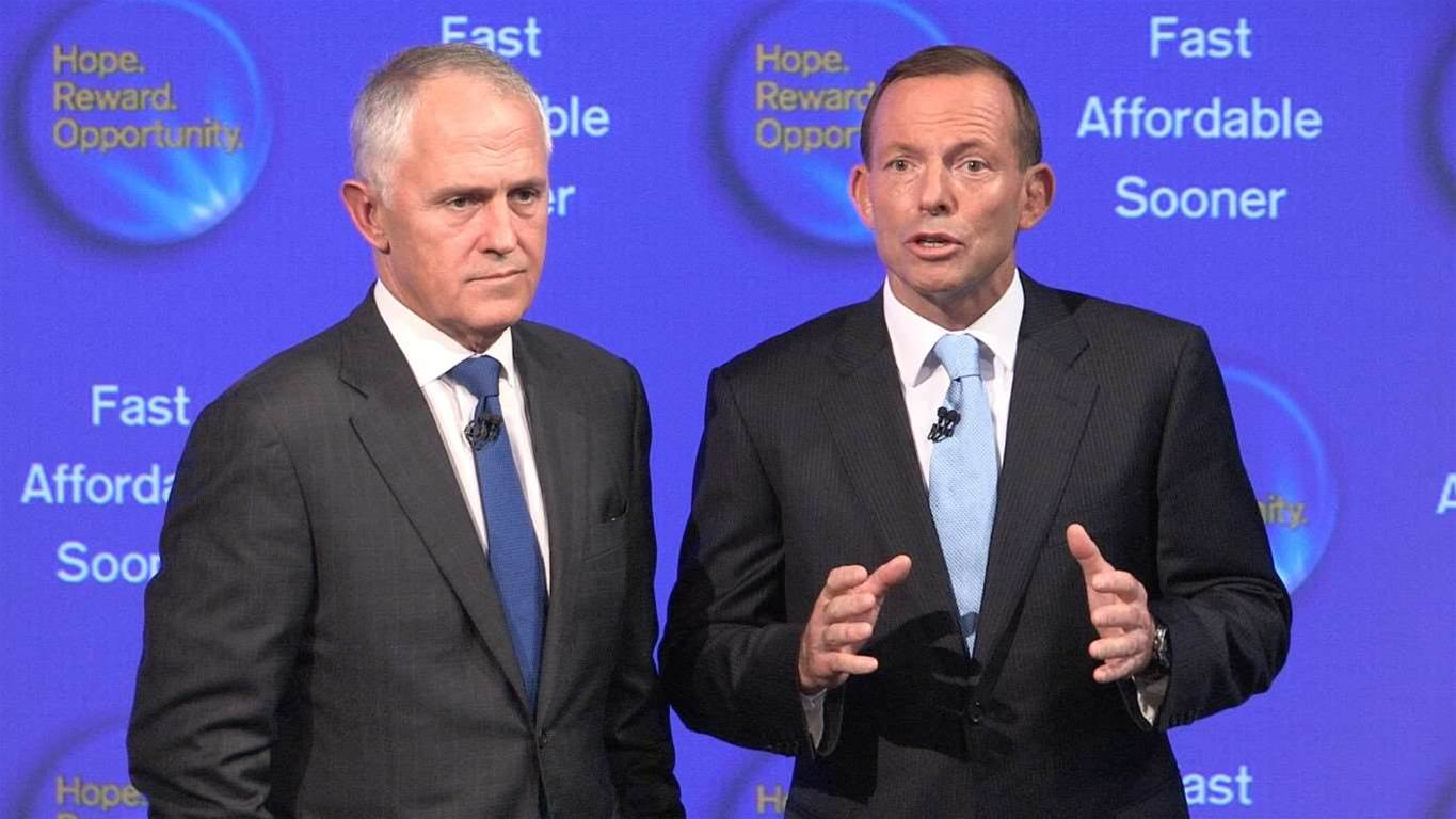 Libs throw open curtains on NBN policy