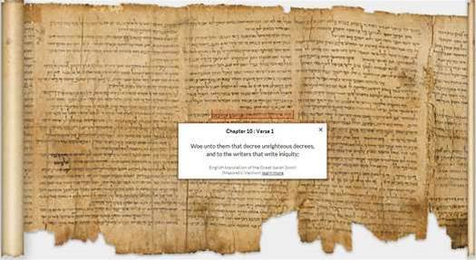 Video: The Dead Sea Scrolls are Now Available for Your Online Perusal, Courtesy of Google