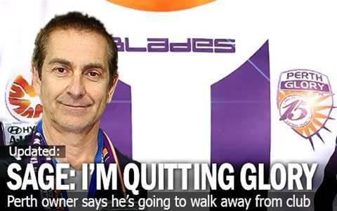 Tony Sage: 'I'm Quitting Perth Glory'