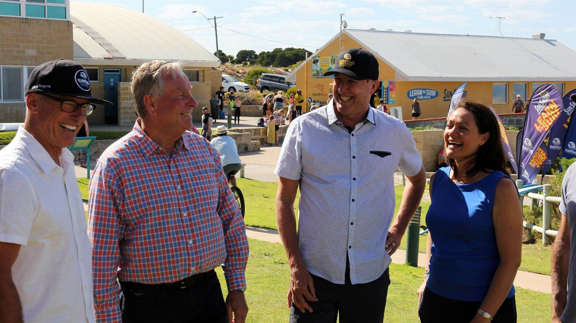 Premier Colin Barnett Promises $3 Million to Surfing WA