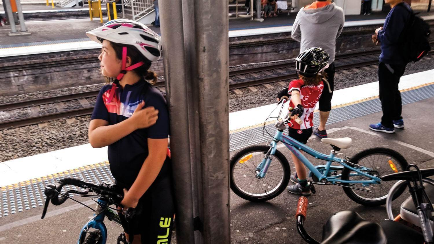 Cycling with kids can be child's play