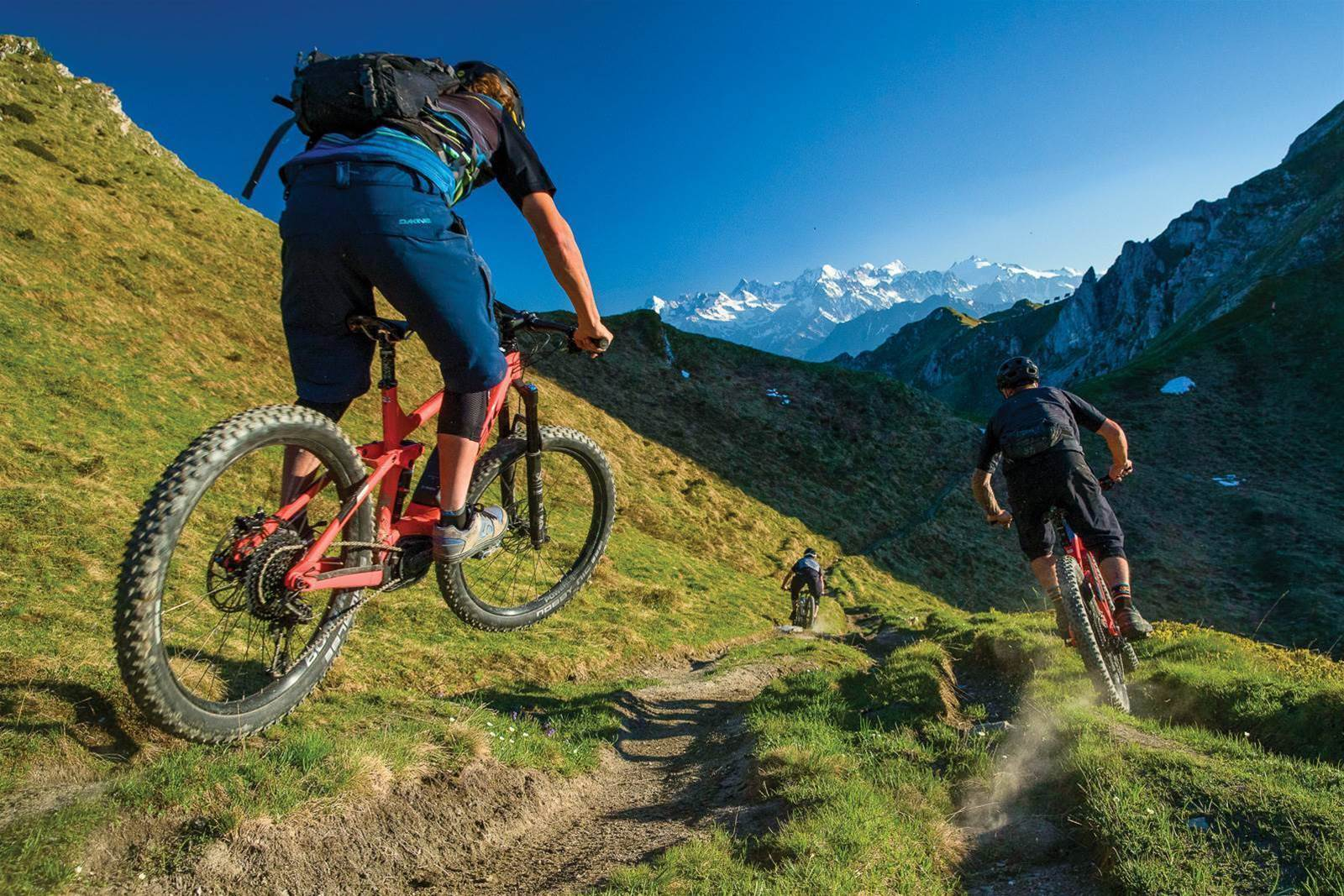 Trail days in Verbier
