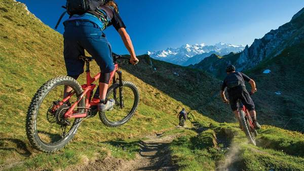 Trail days in Verbier