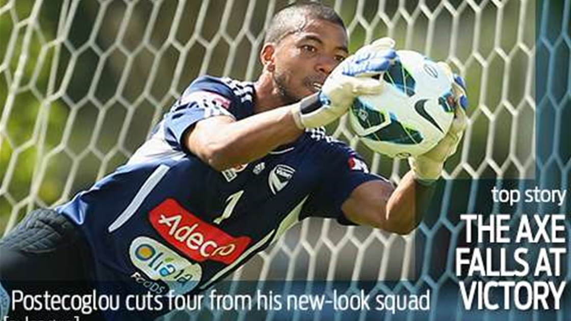 Ange swings the axe at Melbourne Victory