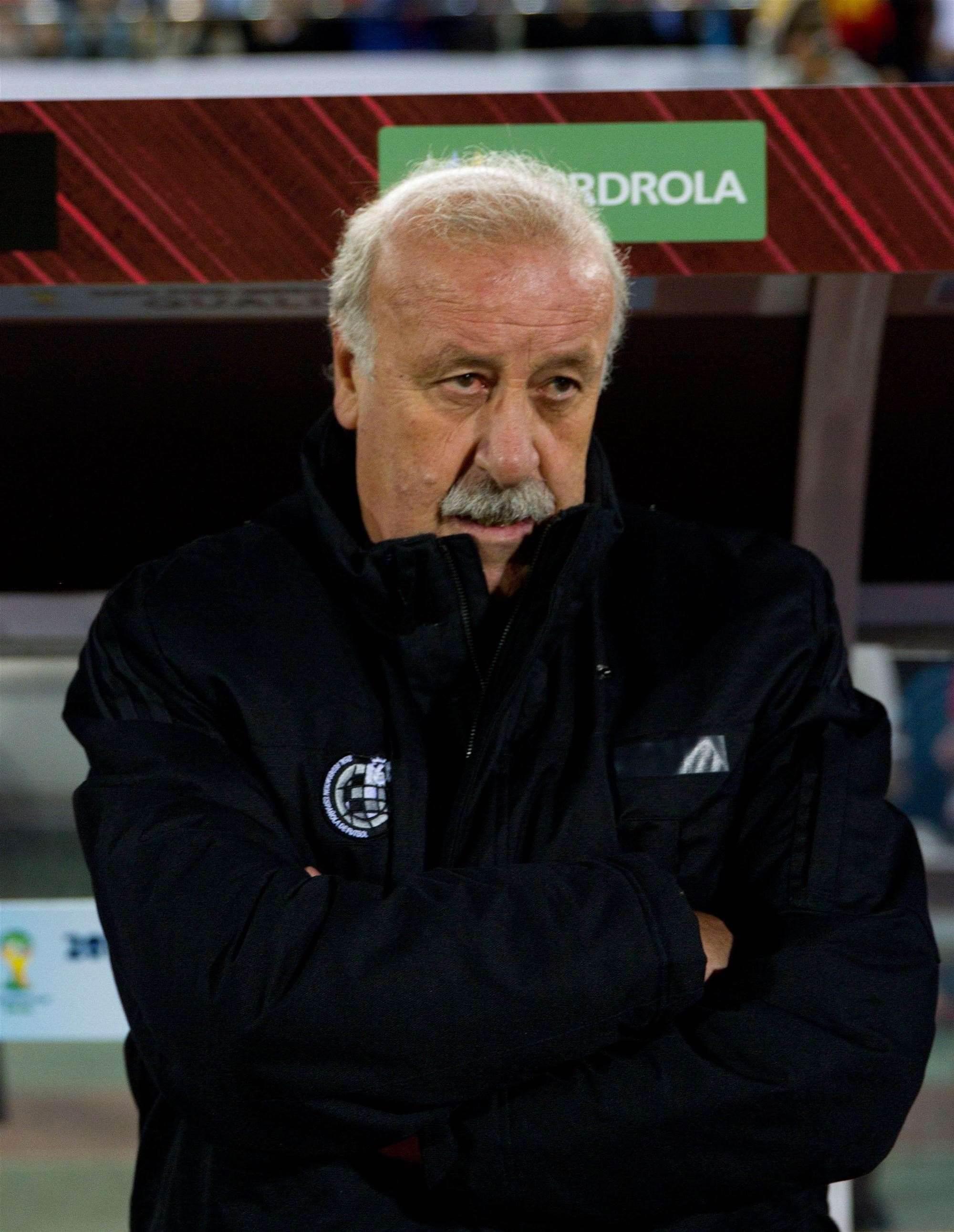 Spain 'struggled' against Belarus says Del Bosque
