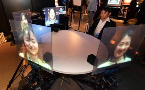 Videoconferencing in the future might look like this