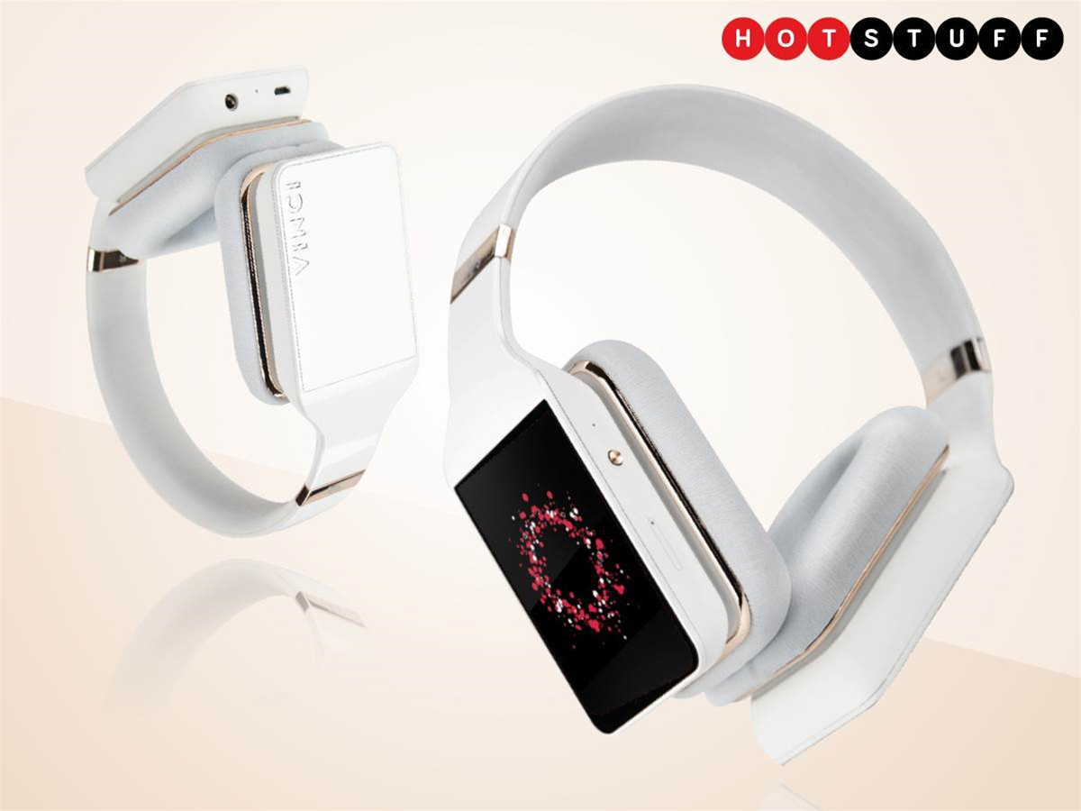 Vinci headphones listen to you as you listen to them