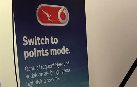 Vodafone joins Qantas Frequent Flyer