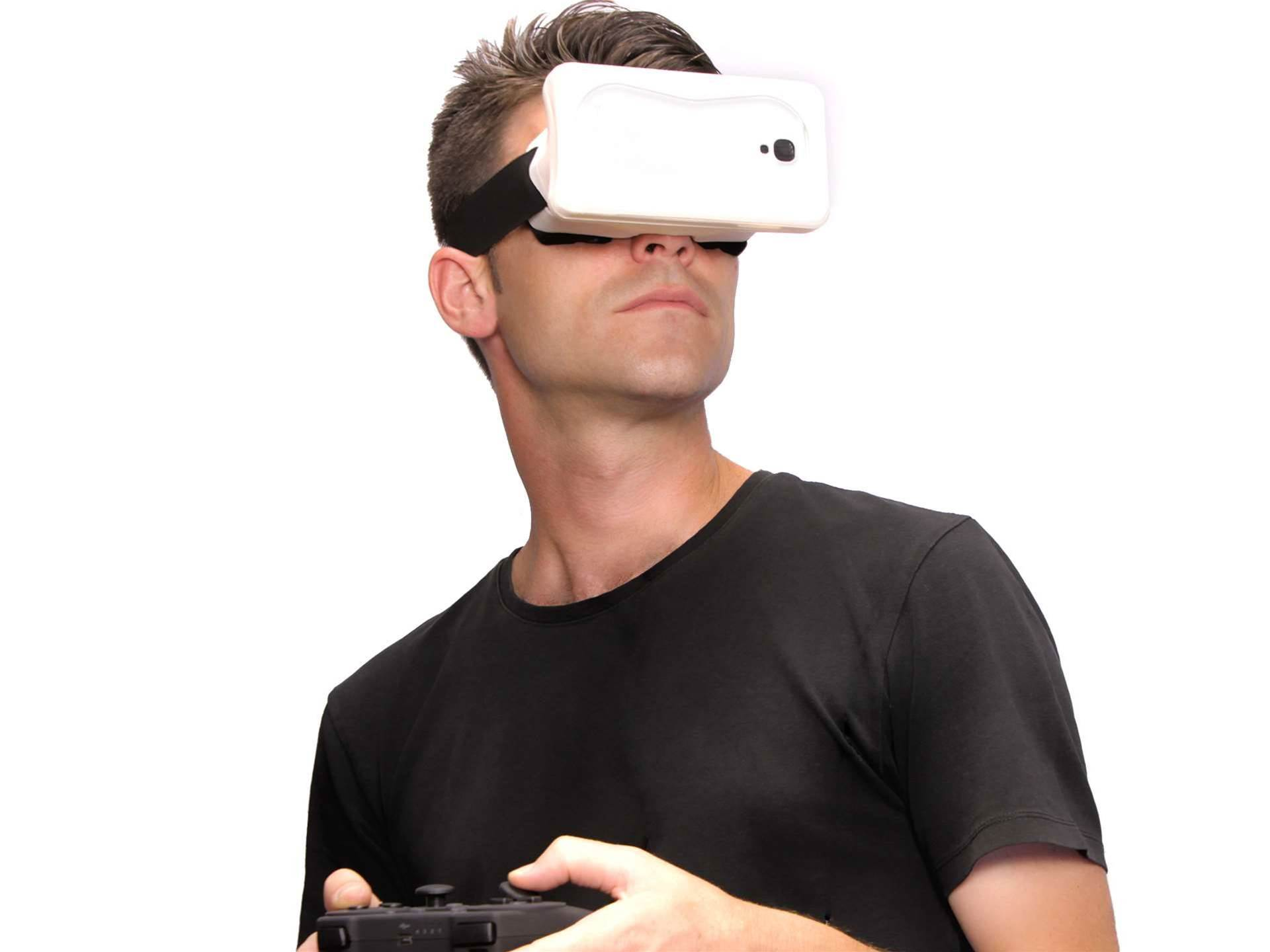 Turn your smartphone into an Oculus Rift clone!