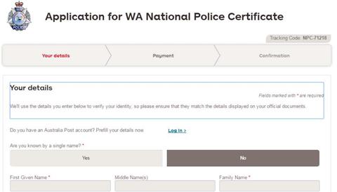 AusPost deploys Australia's first online police check