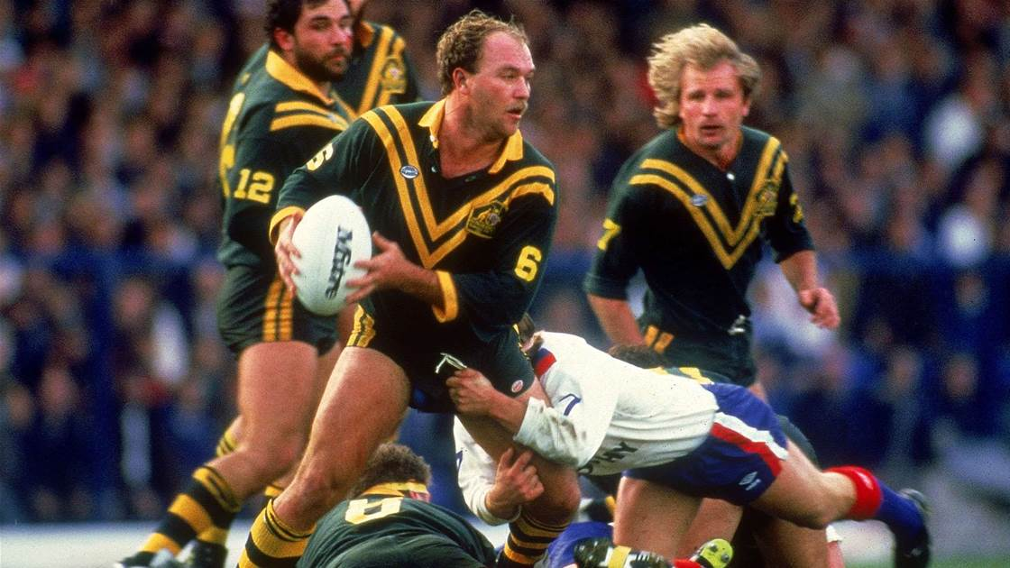 Wally Lewis officially a Legend