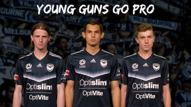 Victory sign three teenagers to A-League squad