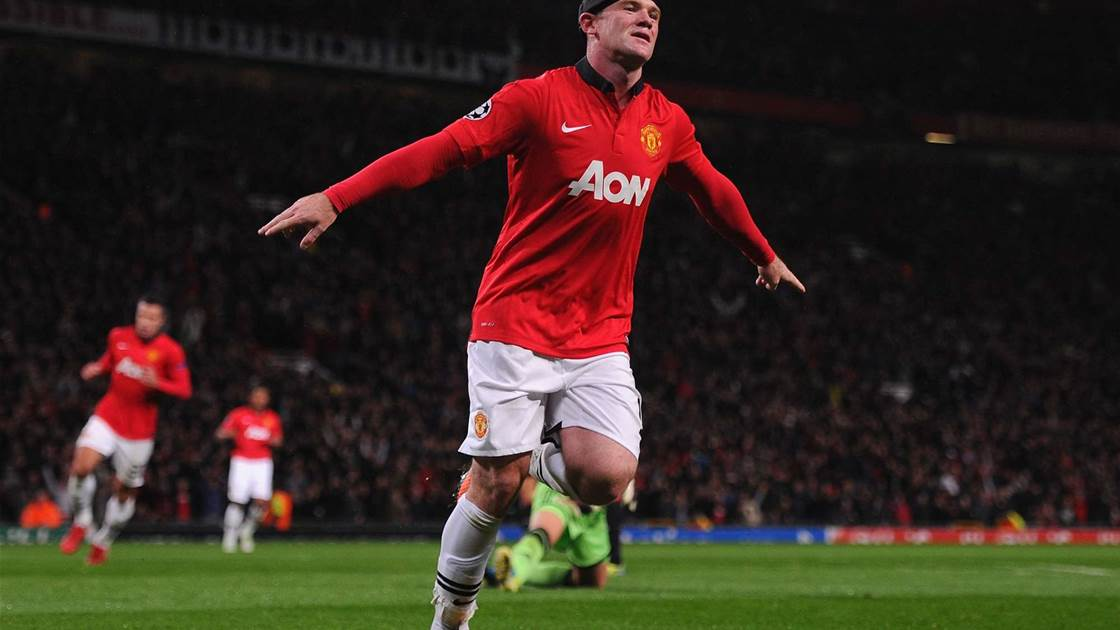 Moyes revels in historic Rooney display