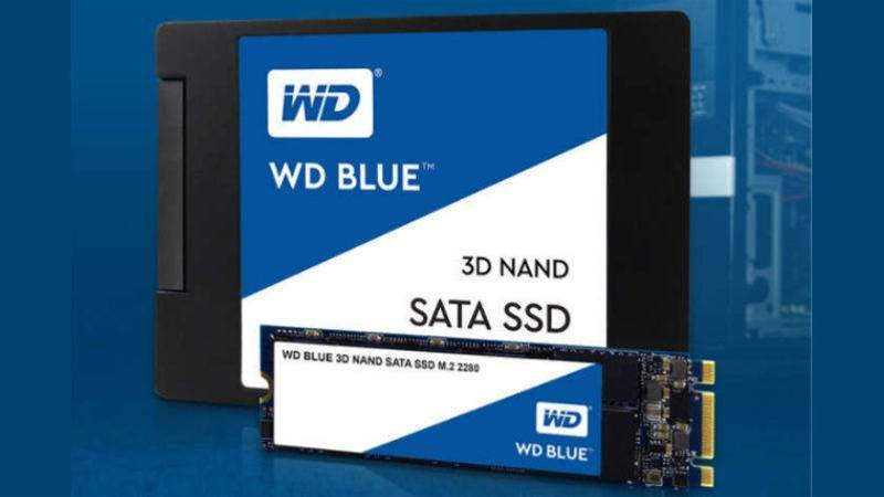Western Digital launches new WD Blue 3D NAND SATA SSD and SanDisk Ultra 3D SSD