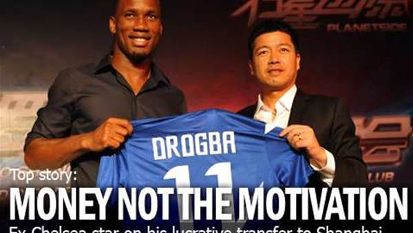 Drogba: Shanghai Move Not About Money