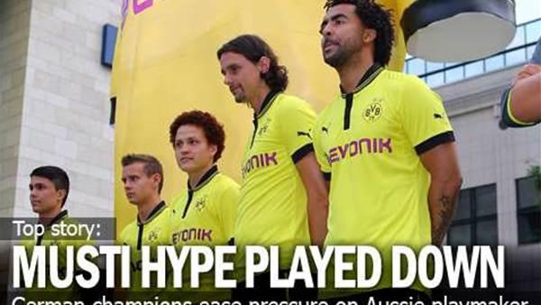 Dortmund Ease Pressure On Rising Star Musti