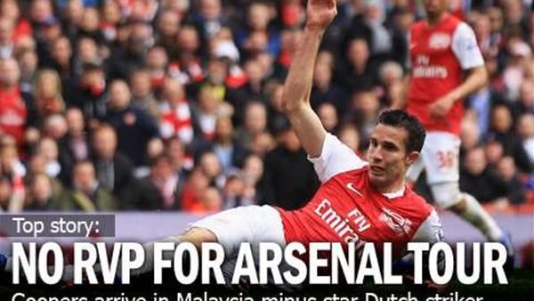 Arsenal In KL Minus RVP
