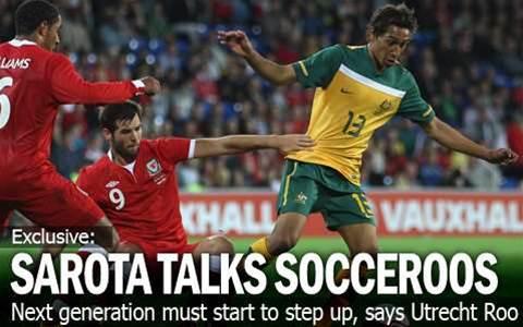 Sarota Talks Socceroos