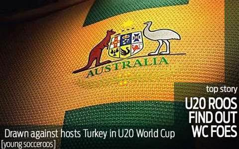 Young Roos drawn with World Cup hosts