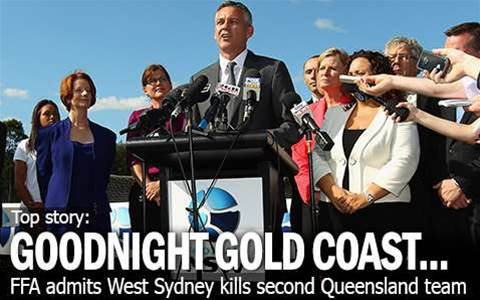 Goodnight Gold Coast...