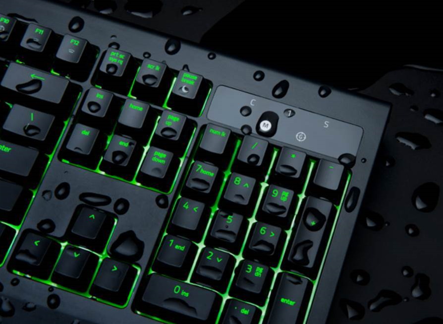 Razer's new BlackWidow Ultimate keyboard can survive a splash