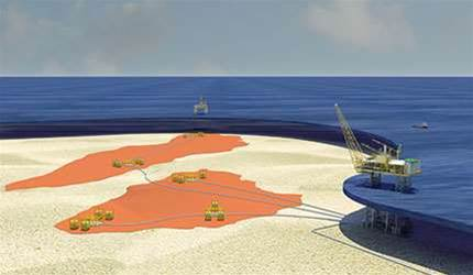 Chevron shelves Wheatstone subsea fibre loop