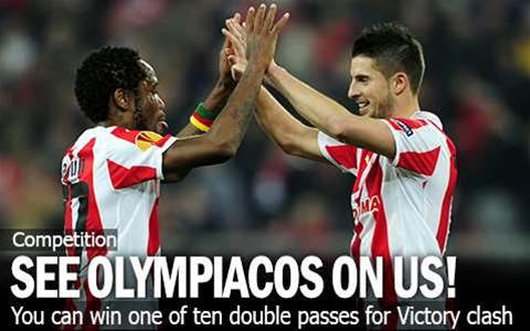 Olympiacos To Bring Full-Strength Side