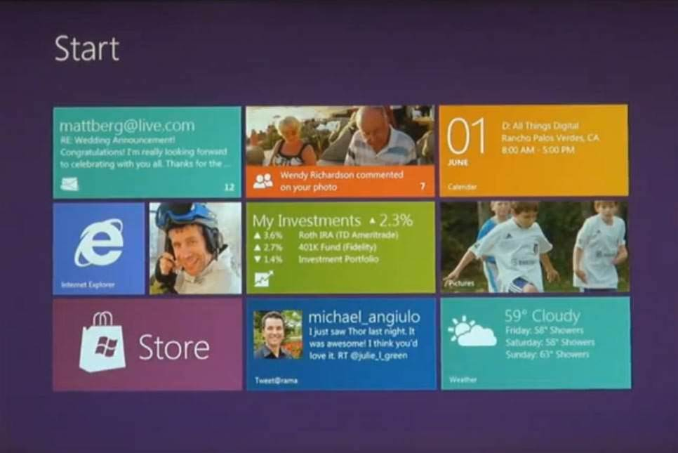 Two-faced Windows 8 splits for touch and mouse
