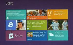 Microsoft previews Windows 8 user interface