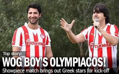 Wog Boy Kicks Off Olympiacos Showpiece