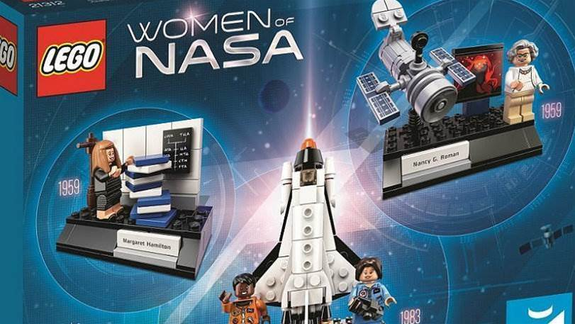Lego is celebrating the women of NASA with four new figures