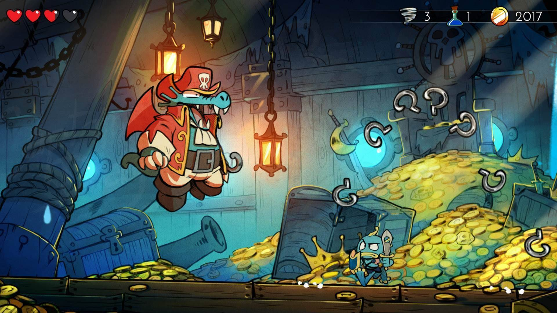 That Wonder Boy remake is getting a physical release