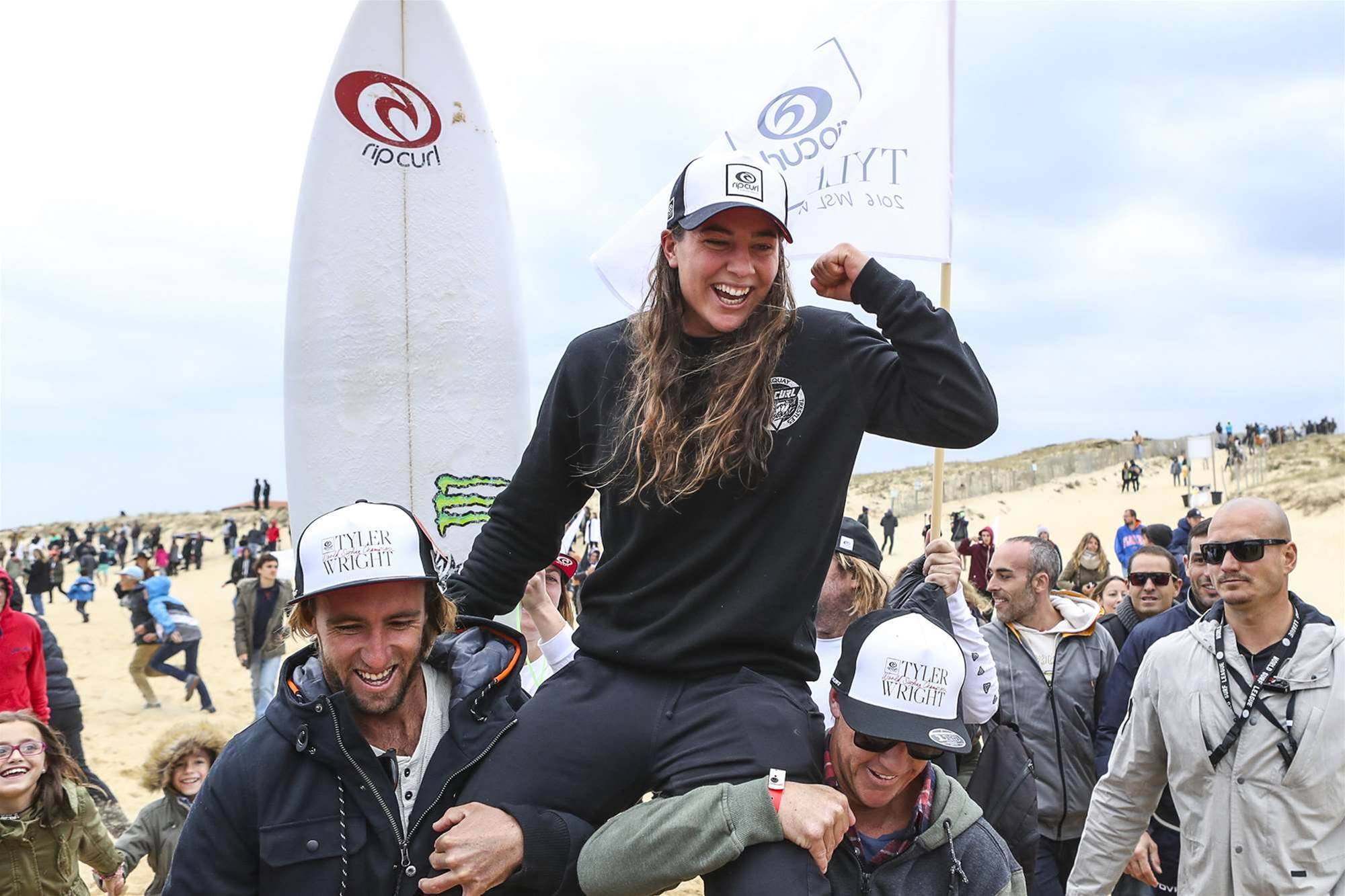 Tyler Wright Claims Maiden World Title in France