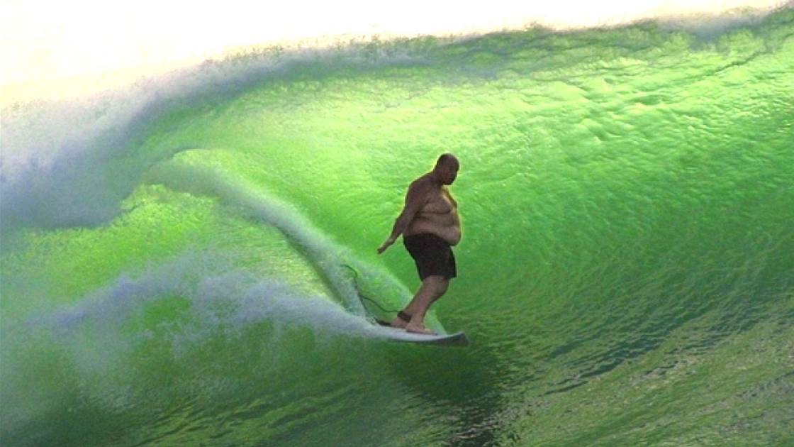 Maintaining surf fitness through the slow months