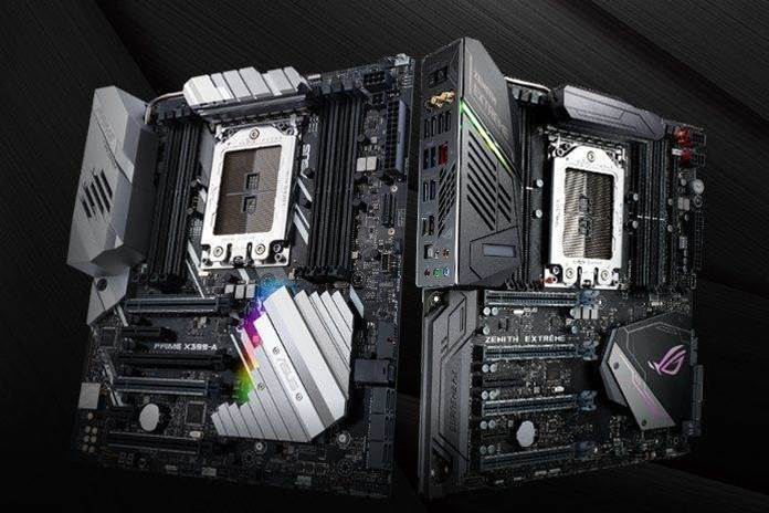 Asus reveals four new X399-powered AMD motherboards