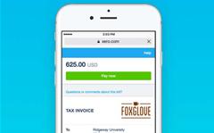 Xero's online invoices now mobile friendly