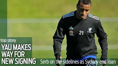 Yau makes way for new Sydney signing