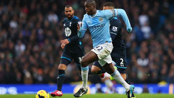 Toure hails Pellegrini team talk