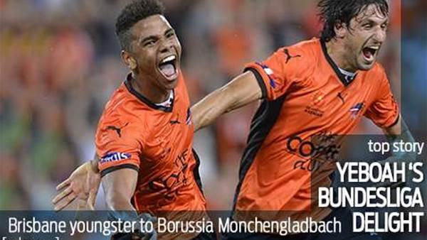 Yeboah off to Borussia Monchengladbach
