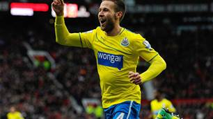 Too early for top-four talk, insists Cabaye