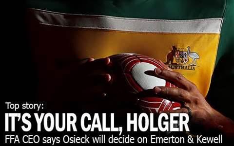 'Osieck Will Decide On Kewell & Emmo'