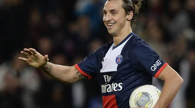 Zlatan hat-trick propels PSG four points