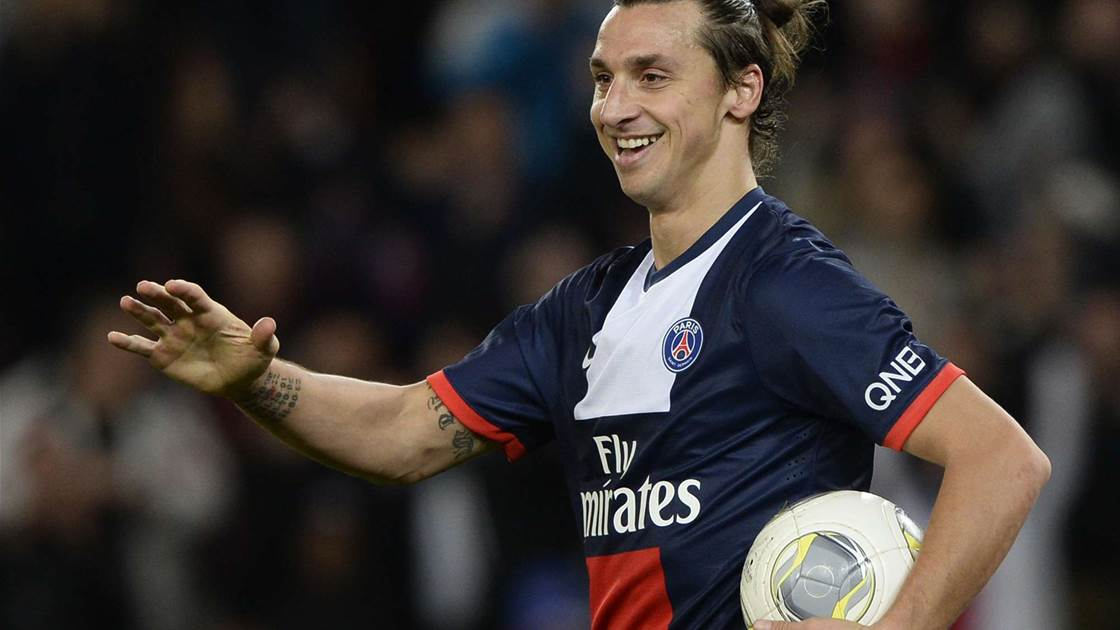 Zlatan hat-trick propels PSG four points