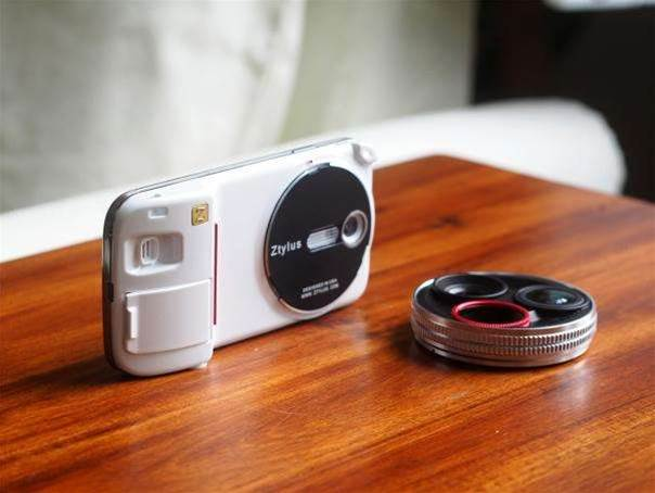 Ztylus' revolver lens kit completely upgrades your Galaxy S4's camera
