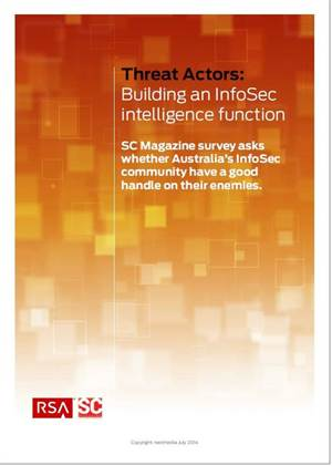 Building an InfoSec intelligence function