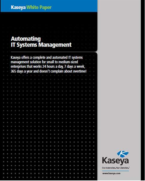 Whitepaper: Automating IT systems management