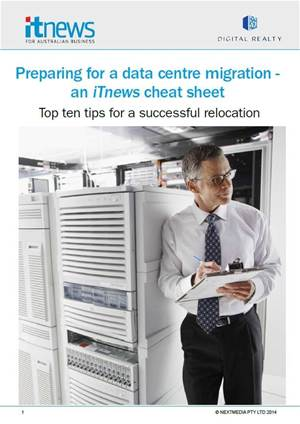 Preparing for a data centre migration
