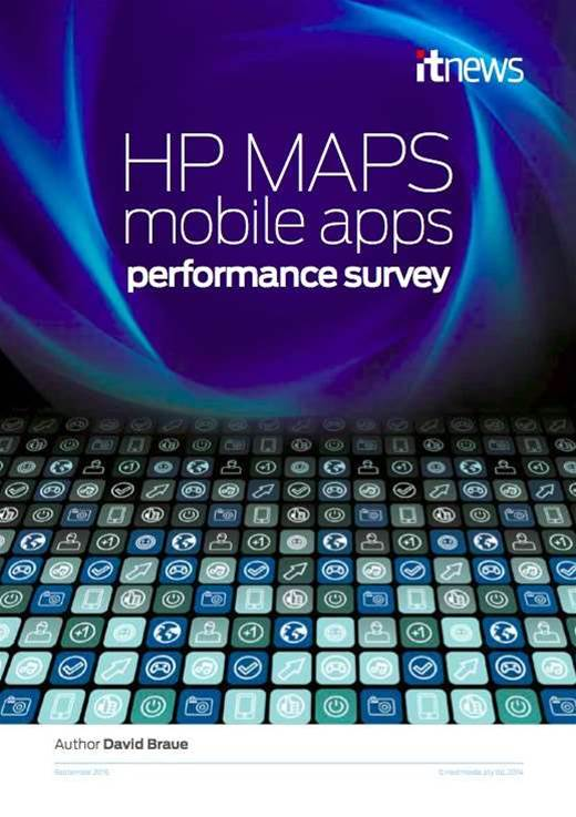 HP Mobile Apps Performance Survey